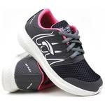 Tênis esportivo Utraflex grafite/pink 130 FRC