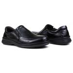 Sapato Social em Couro Floater Preto e Palmilha Gel 3242 -FRC