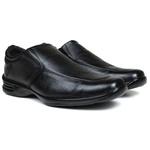 Sapato Social em Couro Floater Preto 740-FRC