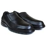 Sapato Social Gallipoli em Couro Preto 3040rp