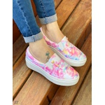 Slip On Tiedye Candy Color