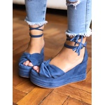 Anabela Azul com Camadas