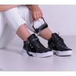 Tênis Chunky Sneakers Pele Preto REF9010