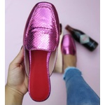 Mulle Pink Croco