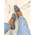 Mocassim Quadrado Zebra
