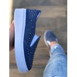 Slip On TL1005 Jeans Azul Escuro