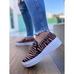 SlipOn Zebra Nude Novo