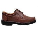 Sapato Masculino Couro Chocolate 602