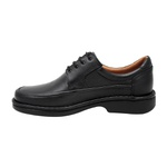 Sapato Masculino Couro Preto 602