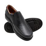 Sapato Masculino Couro Preto 606