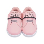 Tênis de Led Infantil Sneaker Luz Only Girl 165145 Rosa Glacê 1194