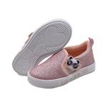 Tênis Infantil Slip On Glitter Luluca by Pampili 435108 Rosa 568