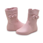 Bota Infantil Feminina Pampili 367120 Rosa 946
