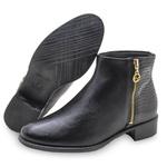 Bota ankle boot Feminina Beira Rio 9045231 Preta 1451
