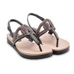 Sandália Dakota Rasteira Conforto z6922 Preta 1002