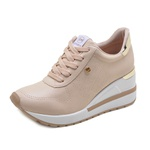 Tênis Feminino Dad Sneakers Via Marte 211253 Creme 1302