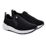 Tênis Slip On Via Marte 19705 Preto 419