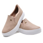 Tênis Slip On Via Marte 20408 Nude 422