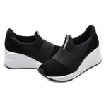 Tênis Feminino Dad Sneakers Via Marte 1912310 Preto 572
