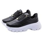 Tênis Feminino Chuncky Sneaker Vizzano 1356100 Preto 455