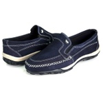 Sapatilha mocassim 12020 azul marinho