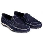Sapatilha mocassim 10021 azul marinho