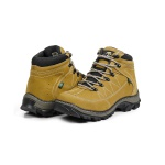 Bota Adventure Casual Couro Nobuck Hiking Extreme Bell Boots - 900 Milho - 893