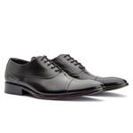 Sapato oxford social clássico Premium bigi 2009 preto 1255