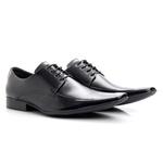 Sapato Masculino Cromo Preto BIGI157