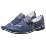 Sapato Social Masculino 3063 Jeans 288