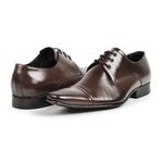 Sapato Masculino De Amarrar Solado Em Couro bigi307 Mouro