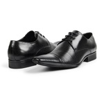 Sapato Masculino bigi307 preto Furado