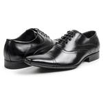 Sapato Masculino Solado De Couro bigi341 Preto