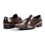 Sapato Masculino Solado De Couro bigi353 Mouro