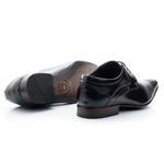 Sapato Masculino Solado De Couro Preto bigi377