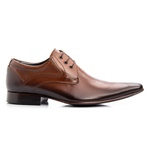 Sapato Masculino Solado De Couro Whisky Microfuros bigi379