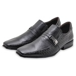 Sapato Social Masculino Calvest 5090D656 Preto 1031