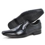 Sapato Masculino de Couro 4614 Preto 233