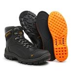 Bota Coturno Militar/Adventure - Master Boots - 9820 - Preta - 630