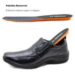 Sapato Social Masculino em Couro Pipper 53106pc Preto 323