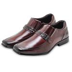 Sapato Social em Couro Masculino Rafarillo 45019-01 Mogno 1042