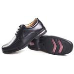 Sapato Confort em Couro Rafarillo 3900700 preto 329