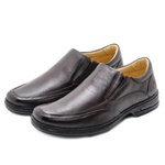 Sapato Confort em Couro Rafarillo 3900102 Café 482