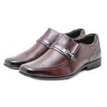 Sapato Social em Couro Masculino Rafarillo 45009 Mogno 821