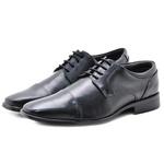 Sapato Social Masculino em Couro 33401 Preto 303