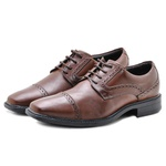 Sapato Social Masculino em Couro 31910 Marrom 304