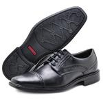 Sapato Social Masculino em Couro 31910 Preto 305