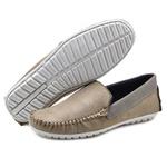 Mocassim Masculino Sapato de Franca 1600 Taupe 309