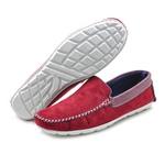 Mocassim Masculino Sapato de Franca 1600 vermelho 310