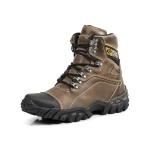 Bota Adventure Couro LegÍtimo - Trekking Windy - Stop Boots - 794 - Marrom